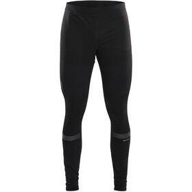 Craft Warm Train Spodnie przeciwwiatrowe Mężczyźni, black/transparent grey